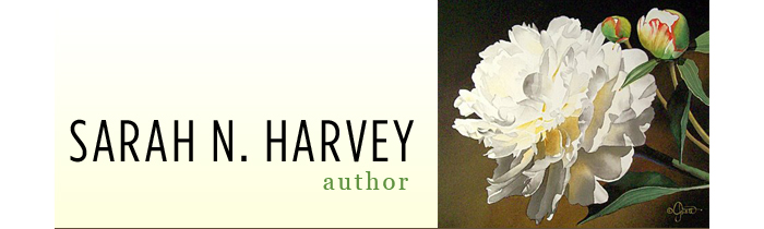 Sarah Harvey Author